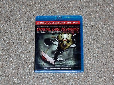 Crystal Lake Memories: The Complete History of Friday the 13th Blu-ray Brand New