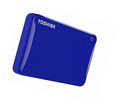Toshiba Canvio Connect II 3TB Portable External Hard Drive 2.5 Inch USB 3.0 - Bl