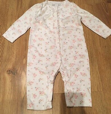The Little White Company Baby Girls Pyjamas 3-6 Months