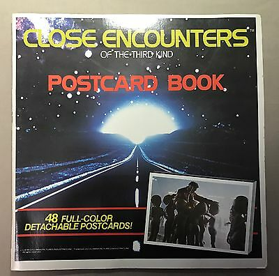 1978 CLOSE ENCOUNTERS Of The Third Kind 48 Postcard Book vintage 70s Complete