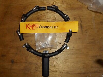Keleo 3 Piece Exhaust Collector Ring for Evolution 9-99