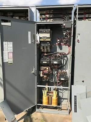 Square-D Model 5 400 HP 480 Volt autotransformer reduced voltage starter mcc 6