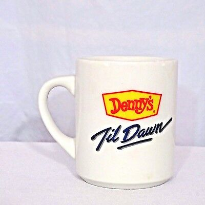 Dennys Restaurant Dennys Til Dawn Coffee Mug Heat Activated Moon To Sun Ceramic