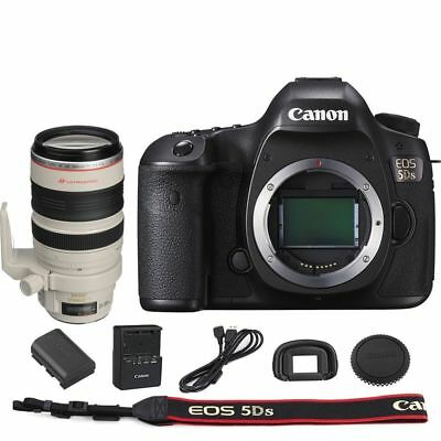 Canon EOS 5DS DSLR Camera Body with EF 28-300mm f/3.5-5.6L IS USM Lens