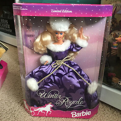 Barbie Doll Winter Royal Limited Edition 1993