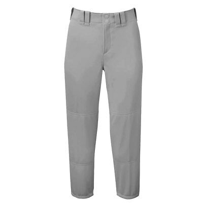 Mizuno Women's Select Belted Low Rise Fastpitch Softball Pant - Gray - Small