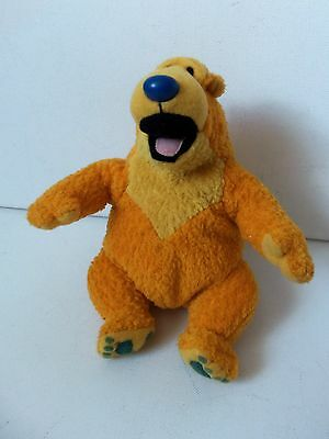 Bear In The Big Blue House Plush Soft Toy Animal Figure Star Bean Mattel Doll