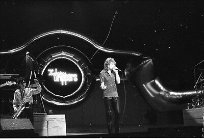 Robert Plant Led Zeppelin  Honeydrippers One Orig. 35Mm B&w Negative With Rights