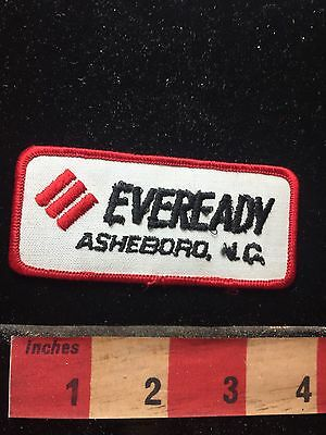 As-Is Rough Asheboro North Carolina Eveready Patch 74Z5