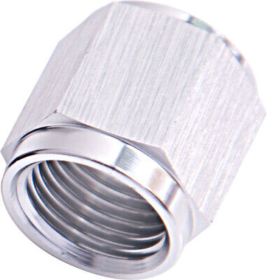 "Aeroflow AF818-08S Tube Nut -8an To 1/2"" Hard Line Silver"