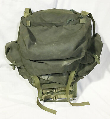 Canadian Military Army 82 Pattern Webbing Rucksack And Frame
