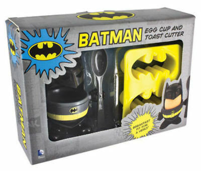 DC Comics Batman Egg Cup and Toast Cutter