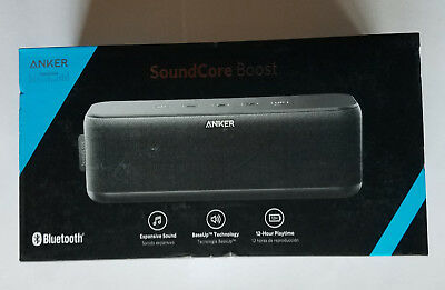 Unused Anker SoundCore Boost Bass-Up Technology Portable Bluetooth Speaker