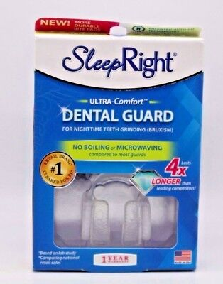 Sleep Right Dental Guard with Storage Case. NEW SEALED.