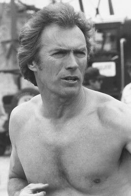 Clint Eastwood Every Which Way Barechested 24X36 Poster Print
