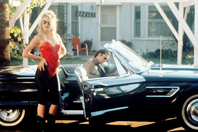 Wild At Heart Nicolas Cage Classic 1965 Ford Thunderbird Car Laura Dern Poster