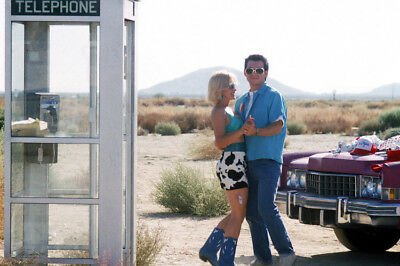 True Romance Christian Slater Patricia Arquette By Cadillac Phone Booth Poster