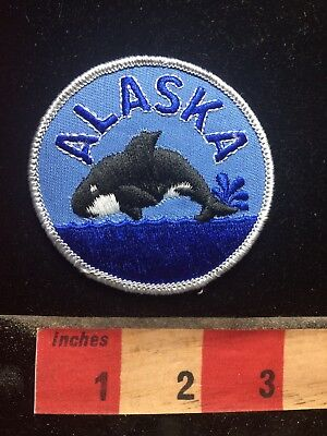 Alaska WHALE WATCHER Patch 77T2
