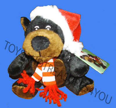 Sears Crispin The Brown Bear Christmas Plushie Mint With Tag 2010 Collectors