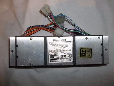 whelen edge 9000 EB6 strobe lightbar power supply used