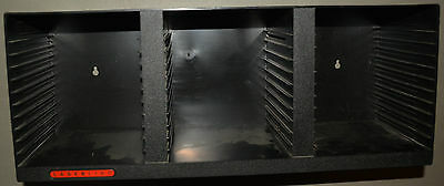 4 stackable / wall mount Laserline CD racks - holds 36 CDs each = 144 total