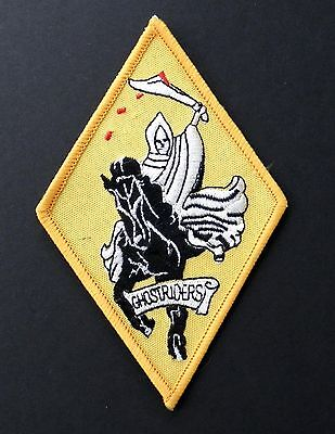 Vf-142 Ghostriders Fighter Squadron Usn Us Navy Embroidered Patch 4 Inches