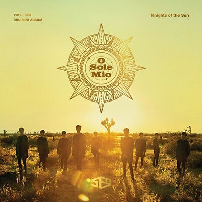 SF9 [KNIGHTS OF THE SUN] 3rd Mini Album CD+POSTER+PhotoBook+2p Card K-POP SEALED