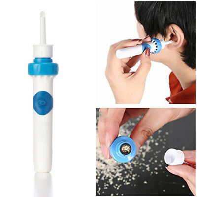Electric Cordless Painless Wax Ear Wax Remover Cleaner Vacuum Ear Pick Hot Hor