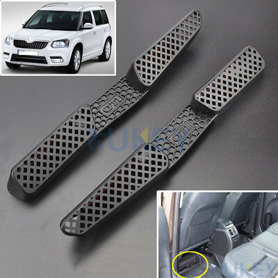 Under Seat Floor Rear AC Heater Air Conditioner Vent Grille Cover For Skoda Yeti