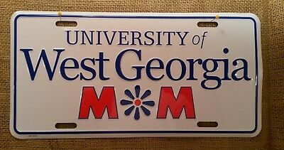 University of West Georgia Front Plate Automobile License Plate Tag Auto Wall