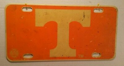 Vintage Tennessee Vols T College License Plate Tag Arts,crafts,decor Automobile