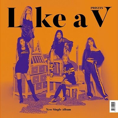 PRISTIN V [LIKE A V] Single Album CD+PhotoBook+2p Photo Card+V Card K-POP SEALED
