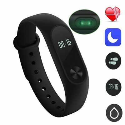 Mi Band 2 Smart Watch 0.42 Inch OLED Smartband /w Heart Rate Monitor Waterproof