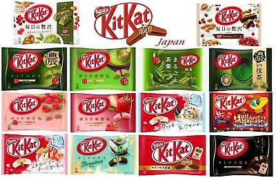 Kit kat Kitkat Chocolate Mini Matcha Halloween Raspberry Mint Strawberry Japan