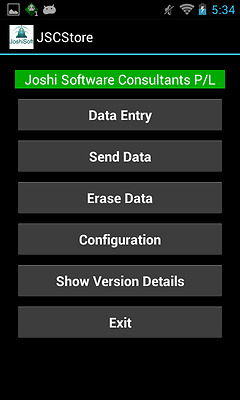 JSCStore Software for IGA Store for MC32N0 Android Mobile Computer