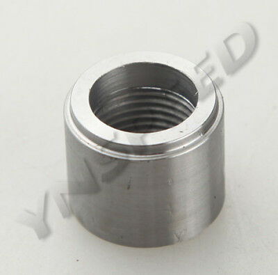 """1/8"""" NPT Female Steel NPT Weld Bung-In AN Fitting Adapter Round"""