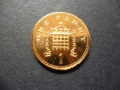 1988 Brilliant Uncirculated One Pence Piece. 1988 1P Coin Uncirculated Condition