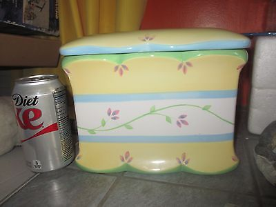 PRINCESS HOUSE Exclusive Ceramic COOKIE JAR  ~ CANISTER ?