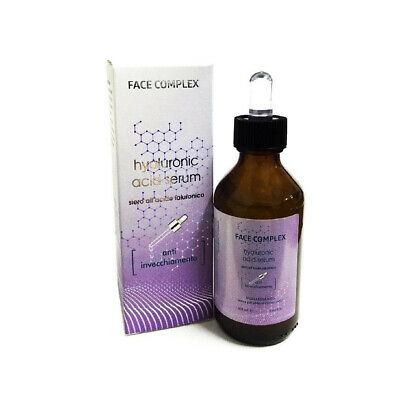 FACE COMPLEX SIERO VISO LABBRA VISO ALL'ACIDO IALURONICO ANTI ETA' 100ml