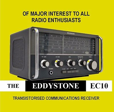 Eddystone EC10 - DVD - HF Communications Receiver - Shortwave Radio