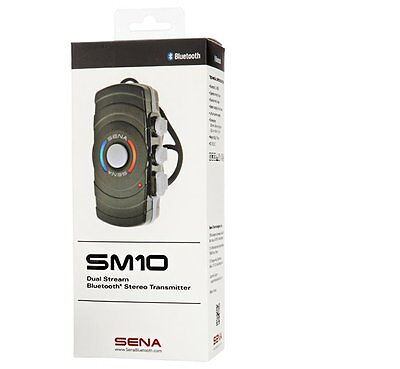 Sena SM10 Dual Stream Bluetooth Stereo Transmitter **NEW**