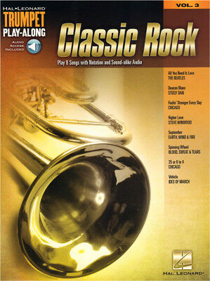 Classic Rock Trumpet Play-Along Trompete Noten mit Download Code