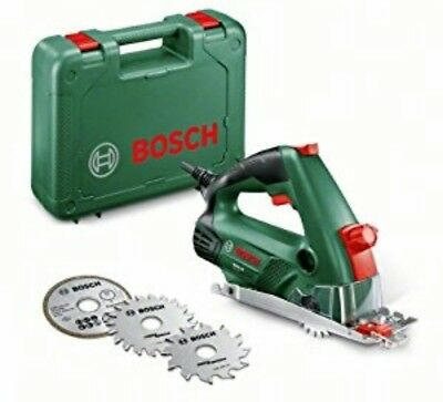 Bosch Pks 16 Mini Hand Held Circular Multi Saw 400W 240V With 3 Blades. New