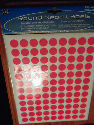 """360x 2cm """"PINK"""" Round Price Lables Price Tags Markets BUY NOW = from Boyz SA"""