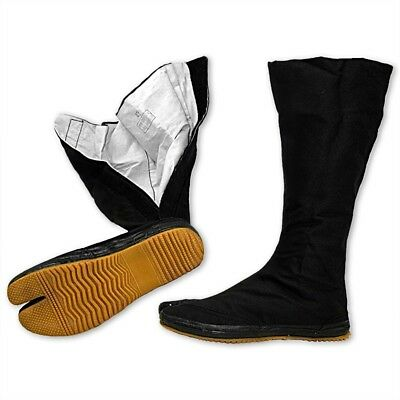 Ninja Tabi Boots Long Full Length Outdoor Martial Arts Shoes Foot Wear Ninjutsu