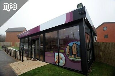 32ft x 20ft Modular Office Building - 12 Month Warranty