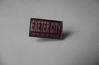 Exeter City various badges updated