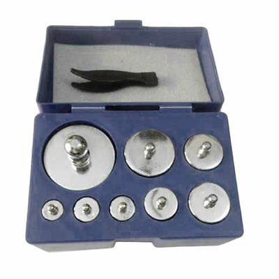 FAS 8 Pieces 1000 Gram Pure Stainless Steel Calibration Weight Set for Scales US