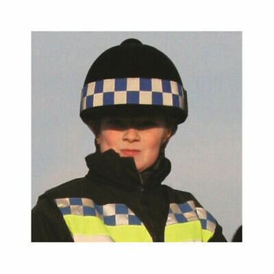Equisafety POLITE Hat Band - Hi-Vis/High Visibility Horse Riding Hat Reflective