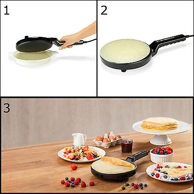 The Delimano Electric Pancake Crepe Maker
